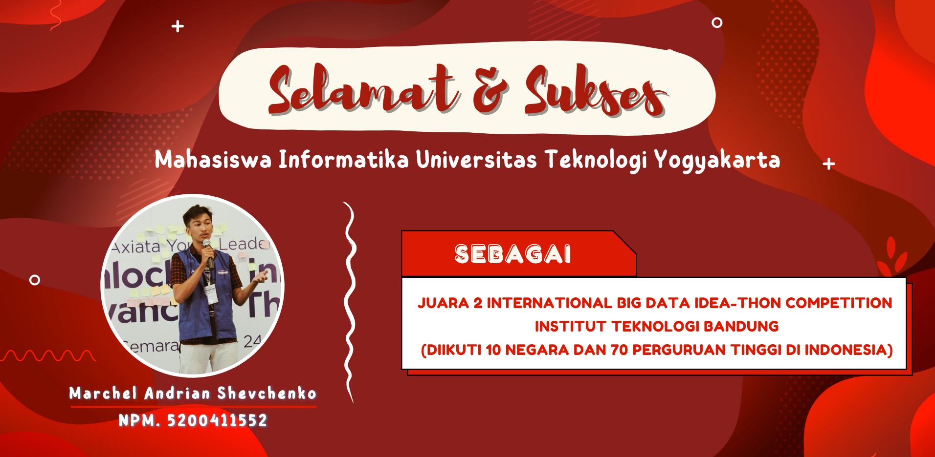 Mahasiswa UTY Raih Juara 2 Kompetisi Big Data di Tingkat Internasional
