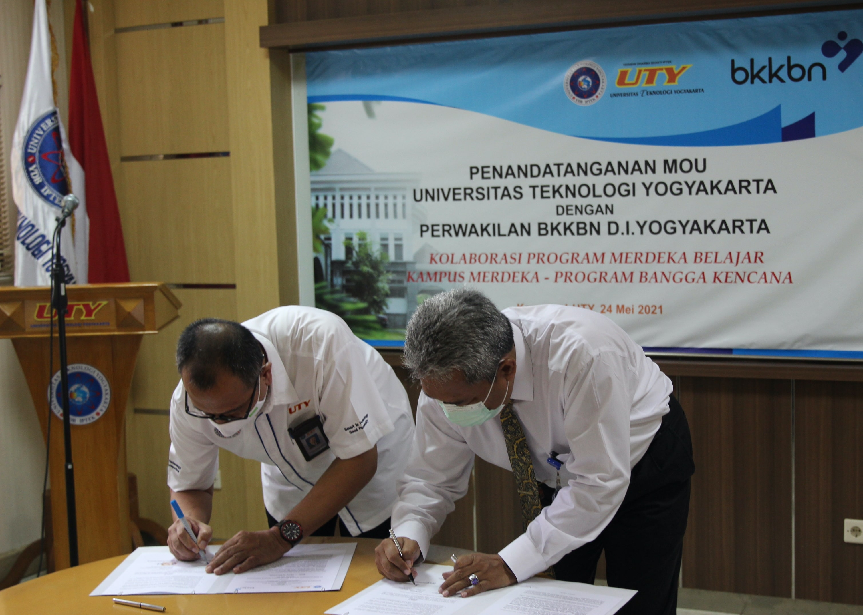 UTY Jalin Kerjasama dengan BKKBN Perwakilan DIY