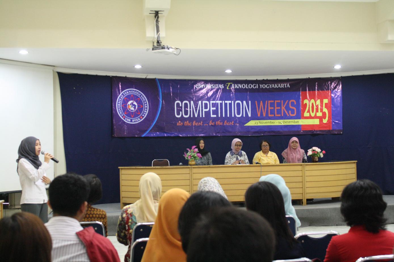 UTY Competition Weeks 2015, Ajang Tingkatkan Hard Skill dan Soft Skill